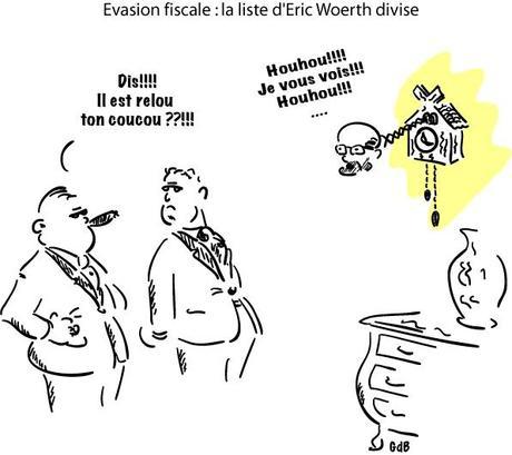 Evasion fiscale : la liste d'Eric Woerth divise