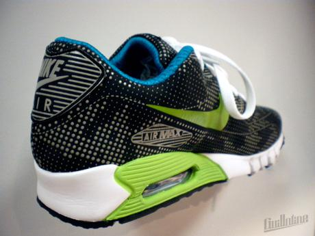 NIKE SPORTSWEAR - SPRING 2010 - AIR MAX 90 CURRENT MOIRE ND ELECTRIC GREEN