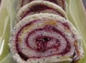 Gâteau roulé confiture cerises (sans gluten)
