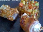 Saltimbocca Veau Mozzarella, Légumes Façon Ratatouille