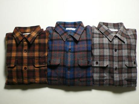 HEAD PORTER PLUS - F/W '09 - OLD CHECK SHIRT