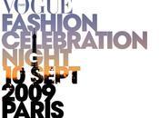Vogue Fashion Celebration Night Septembre 2009 Paris Soirée toute l'Avenue Montaigne