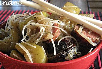 Wok de courge vietnamienne à la citronnelle - Paperblog