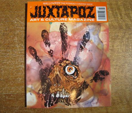 JUXTAPOZ #105 - OCTOBER 2009 ISSUE CURATED BY PUSHEAD