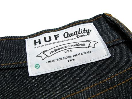 HUF - FALL '09 COLLECTION - DENIM & CANVAS PANT