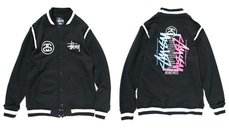 STUSSY - F/W '09 - WORLDWIDE VARSITY JACKET