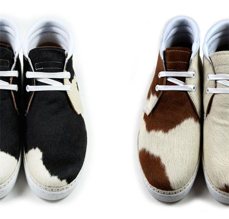BE POSITIVE - F/W '09 - WOMENS CHUKKA BOOT PONY HAIR