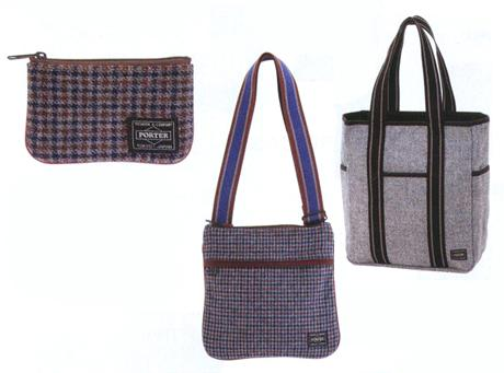 HEAD PORTER - F/W '09 - TWEED COLLECTION