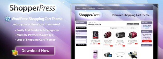 shopperpress, site de ecommerce avec wordpress
