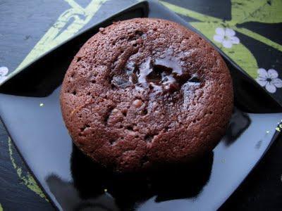 Moelleux au chocolat & son cœur coulant aux citrons verts confits