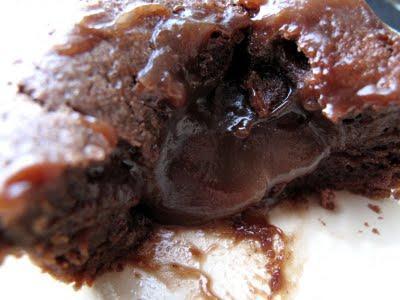 Moelleux au chocolat & son cœur coulant à la crème de marron