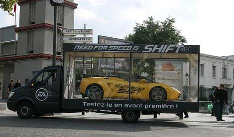 Need For Speed SHIFT : promotion à Paris