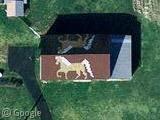 Dessins sur les toits de l'Indiana