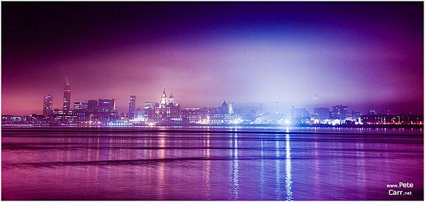 Fog on the Mersey by Pete Carr
