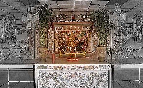 Le temple chinois « Moun Niti Sawan Metatam »