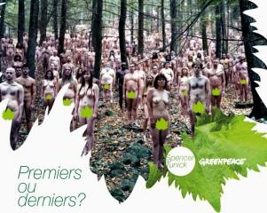 Youwineblog is… soutient le projet de Greenpeace et Spencer Tunick !!!