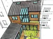 Maison Loft bois Paris