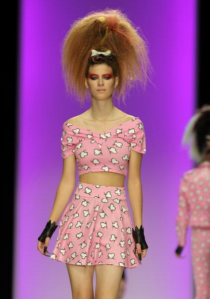 Jeremy Scott Runway: Spring/Summer 2010 - London Fashion Week