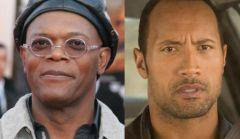 Samuel L. Jackson et The Rock