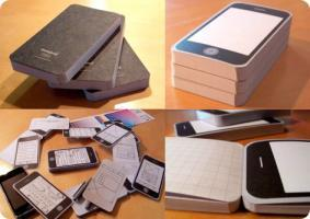 Le Notepod un bloc-notes iPhone