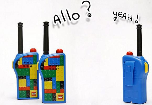 URBAN OUTFITTERS // lego walkie talkies
