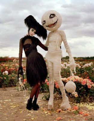 Tim Burton Halloween Fashion