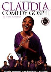 CLAUDIA COMEDY GOSPEL.18 sept au 15 dec.