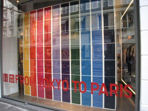 Uniqlo windows