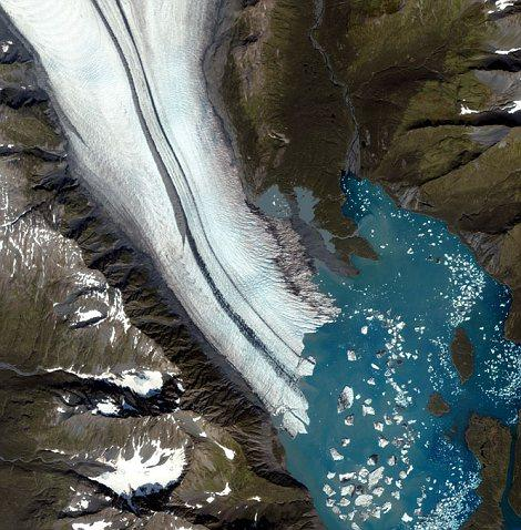 glacier2 Attention : Glaciers en voie de disparition