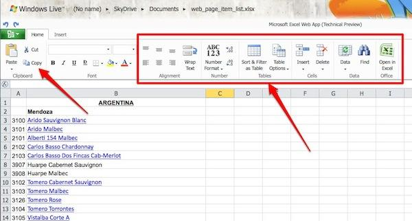 microsoft office web apps 2 Applications Web: au final, Microsoft doublera peut être Google!