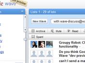 Google wave premières images