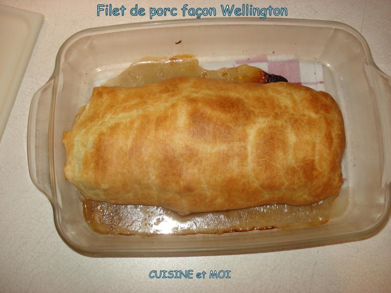Filet mignon Wellington