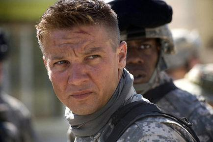 Jeremy Renner, Kathryn Bigelow dans Démineurs (Photo)