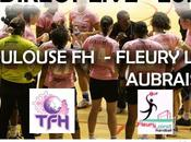 Handball-D1 (F): Toulouse Fleury Aubrais direct live
