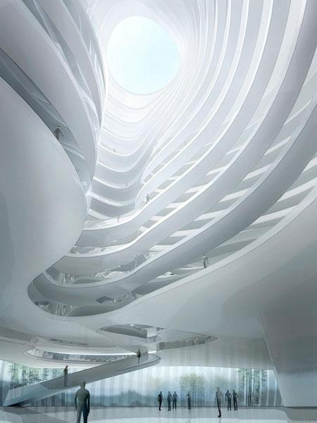 Taichung Convention Center, par les architectes MAD