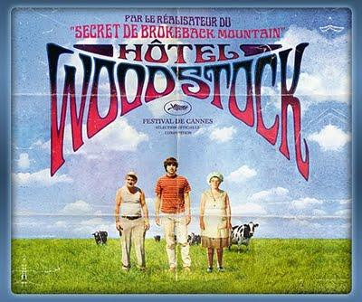 Hôtel Woodstock, d'Ang Lee - tu n'as rien vu à Woodstock