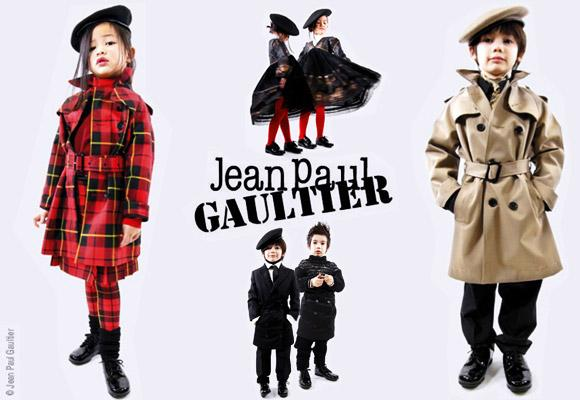 JP GAULTIER JUNIOR // first collection for kids
