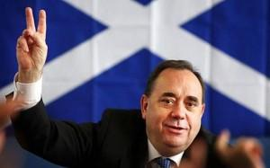 Alex Salmond du Parti National Écossais