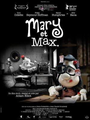 Mary and Max - Un film australien de Adam Elliot