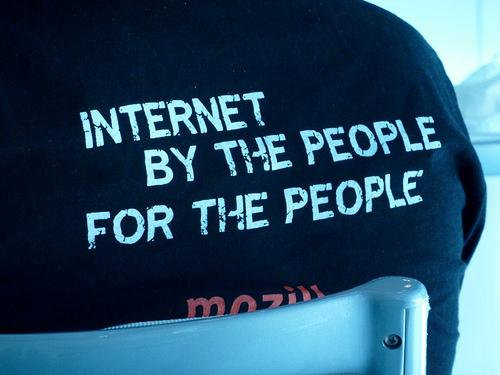 Internet by the people for the people