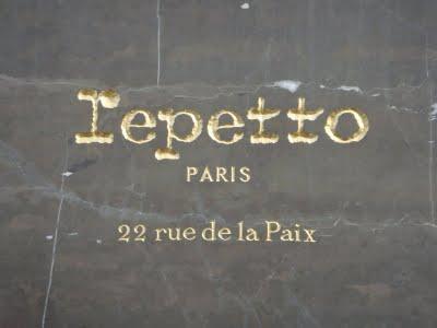 Voyager à Paris.... et connaître Repetto