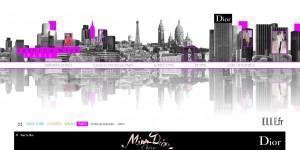 Fashion Week par Miss Dior