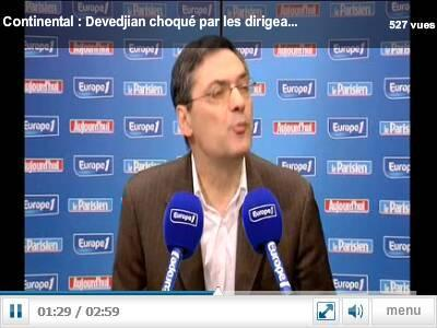 Mittal comme Continental :