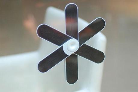 fleur solaire 1 Une fleur solaire pour vos appareils mobiles