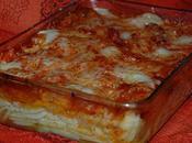 Gratin gnochetti, légumes sauce bolognaise