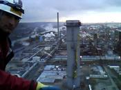 Greenpeace occupe raffinerie Total Havre pour dénoncer crime climatique