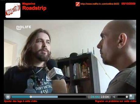 Roadstrip sur nolife TV, la fameuse émission sur
