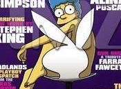 Marge Simpson dans Playboy