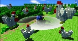 3D dot Games Heroes, Un petit air de Zelda ?