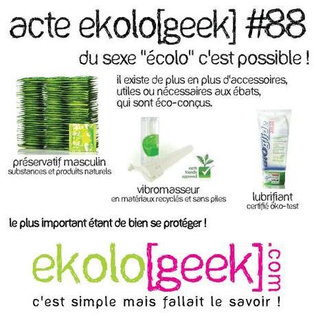 Acte ekolo[geek] #88